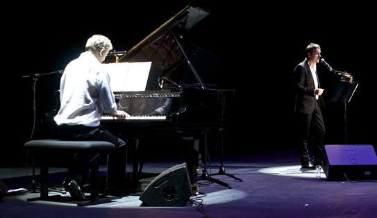 Wim Mertens y Kirmen Uribe